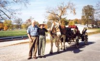 Richard and Grace, 1998, Harrison County Fairgrounds
