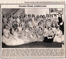 Senior girls class of 1955