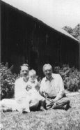 Ted, Ann George Applegate II (Papa)