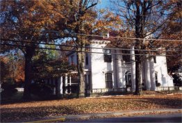 Childhood home of Ted and Pud Applegate