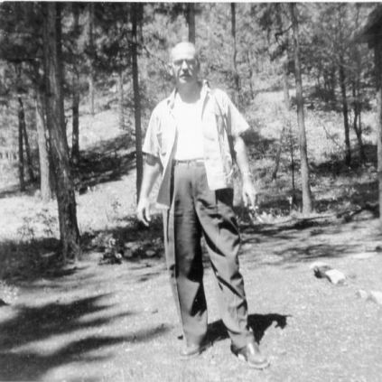 Ted in Ruidoso, 1953