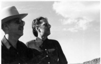 Ted and Maggie, Big Bend, 1949