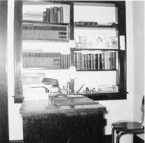 Office desk of Dr. V. C. Patten
