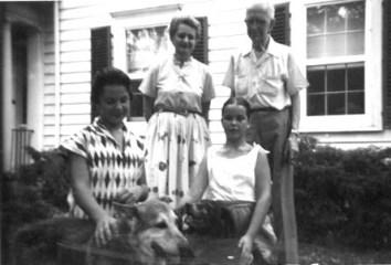 Barb Applegate, Dolores, V.C, Dee Ann Patten, Morristown, 1957