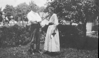 V. C. and Julia Anne Patten, about 1918