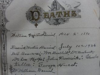 Willie Daniel death record