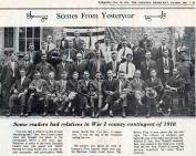 WW I veterans