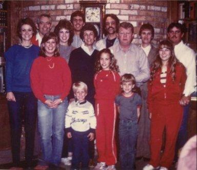 Family gathering, 1984