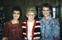 Ann, Larry's mother, Julie, 1986