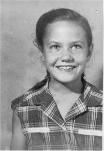 Barb, age 8, 1951
