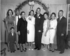 Grace's wedding, April 11, 1959