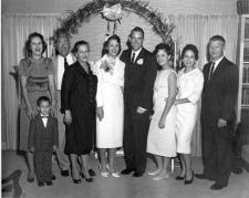 Grace's wedding, April 11, 1959