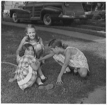 Barb, Grace, Rica, Corydon, 1948
