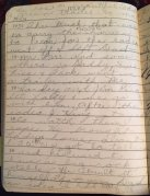 Grace's diary entry, 7/2/1951