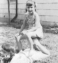 Grace and Rica, about 1947, Corydon