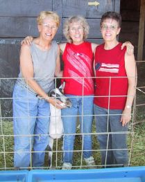 Grace, Rica, Barb, 2002, Pueblo, Colorado