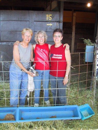 Grace, Rica, Barb, Pueblo, Colorado, July 2002