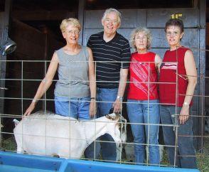 Grace, Richard, Rica, Barb, Pueblo, Colorado, July 2002
