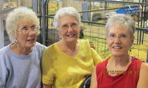 Rica, Grace, Barb, July 2012, Colorado