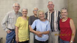 Richard, Grace, Richard, Rica, Don, Barb, July 2012, Colorado