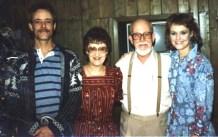 Pete, Ann, Larry, Julie, 1986