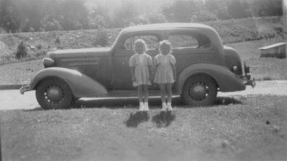 Grace and Sue at Sibert farm