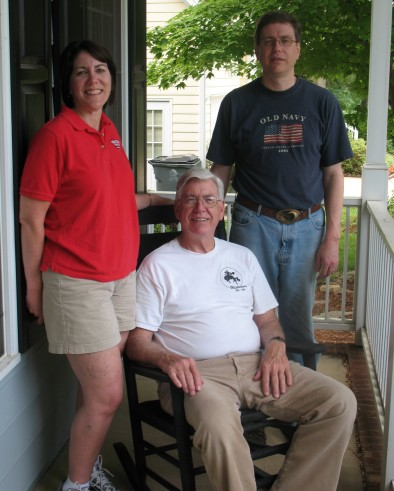 Theresa, Don, John, June 2007