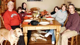 Bill's family, December 25, 2009