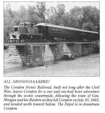 Corydon scenic railway