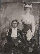 George W. Applegate II and Grace Daniel Applegate, about 1898.