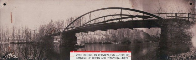 The 'hanging bridge' in Corydon