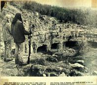 Milltown quarry, 1974