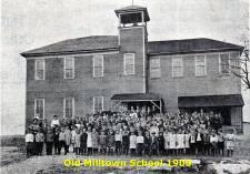 Milltown School, 1900