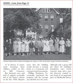 Article about the Gordon orphans home, pg 2