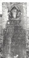 Mary Walker Applegate (1774-1858) headstone