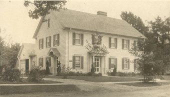 Vernon Cole Patten home in Morristown, IN