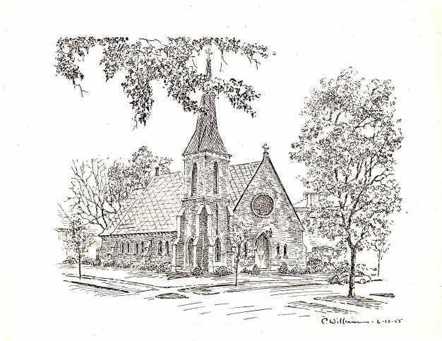 Caroline Williams pencil drawing, 06/12/1955