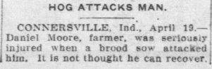 Daniel Moore, Palladium, Apr 19, 1916