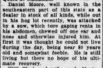 Daniel Moore, Richmond, Apr 27, 1916