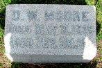 Daniel Moore headstone