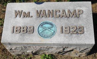 Sheriff William VanCamp plaque